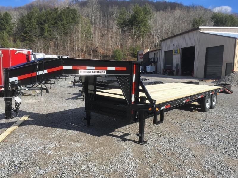 2018 Other 25ft 7Ton Deckover Gooseneck Equipment Trailer