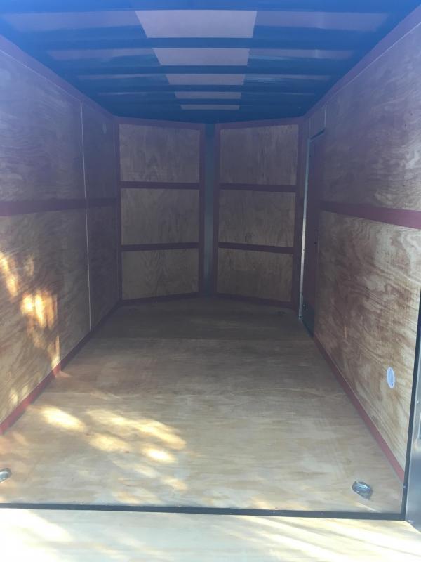 2019 Homesteader 7x12 intrepid single axle 12in extra ht ramp door Enclosed Cargo Trailer