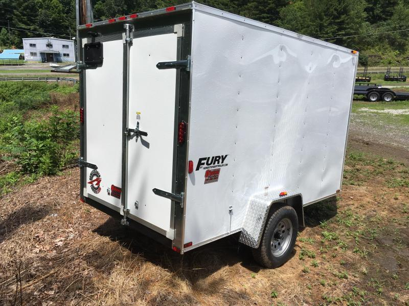 2018 Homesteader Inc. 6x10 Fury Enclosed Cargo Trailer