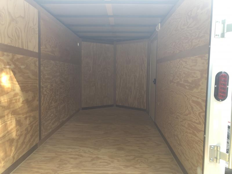 2019 Triple Crown 6x12 Intrepid single axle sd ramp Enclosed Cargo Trailer