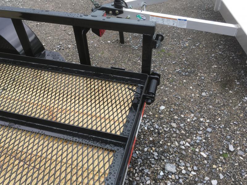 2020 Quality Trailers 77x10 PRO SERIES single axle w/gate Utility Trailer