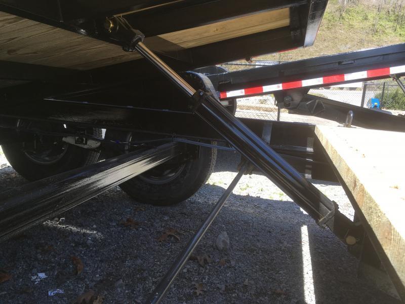2019 Quality Trailers 82x22(8+14) 7ton Tilt bumper pull Equipment Trailer