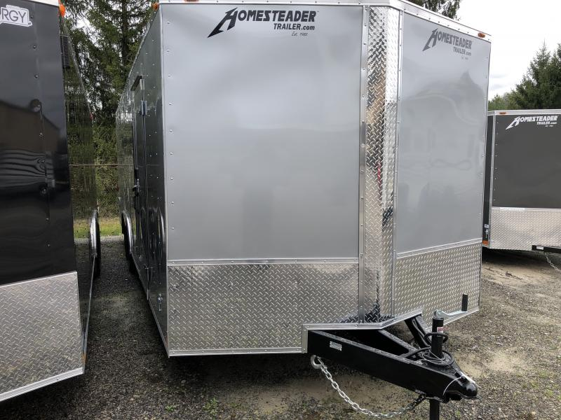 2019 Homesteader 824it intrepid 5 ton car hauler wider ramp Enclosed Cargo Trailer