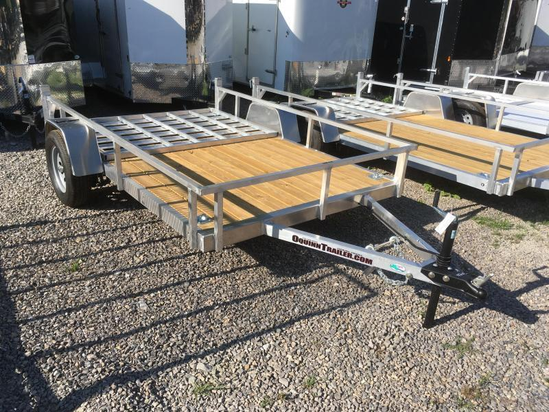 2019 Forest River Inc. 78x10 AFG wood floor aluminum Utility Trailer