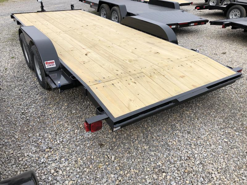 2019 Quality Trailers 82x18 wood car hauler Car / Racing Trailer