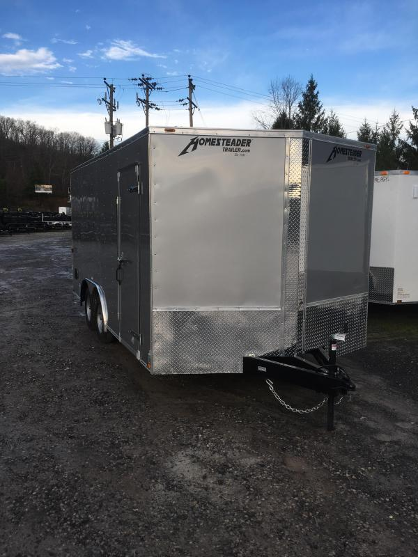 2019 Homesteader 8.5X16 Intrepid SD Double Door Enclosed Cargo Trailer