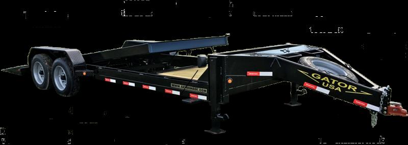 2019 Gatormade Trailers 17600GVWR Aardvark Tilt 24ft Equipment Trailer