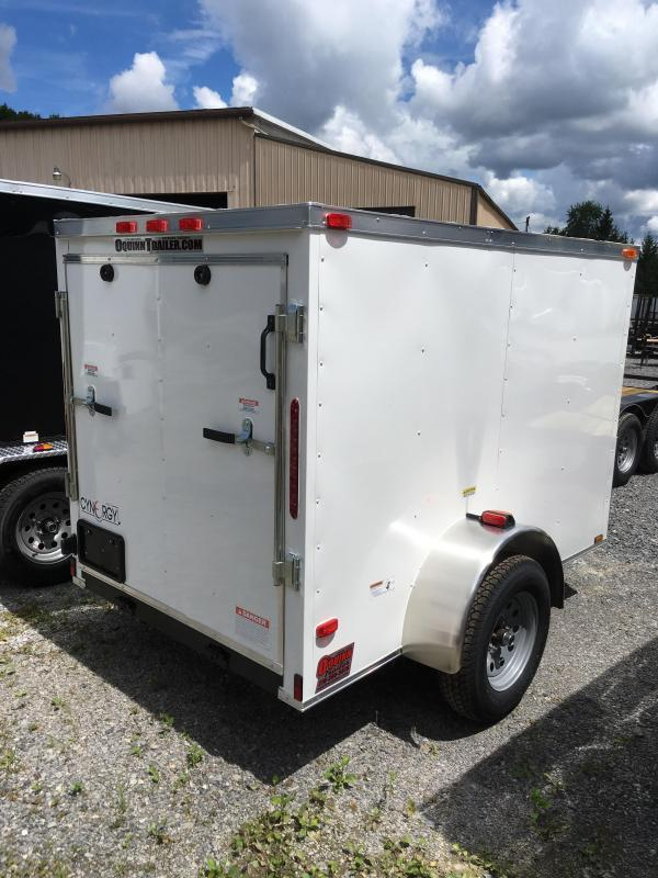 2019 Cynergy 5x8 v nose ramp only Enclosed Cargo Trailer