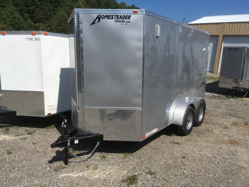 2019 Homesteader 6x12 Intrepid tandem 6in extra ht sd ramp Enclosed Cargo Trailer