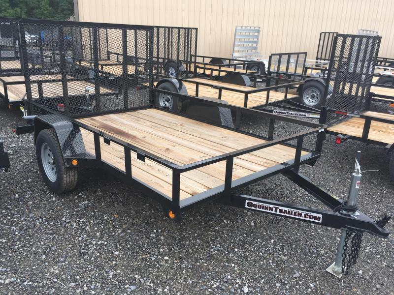 2019 Gatormade Trailers 76x10 gate single axle Utility Trailer