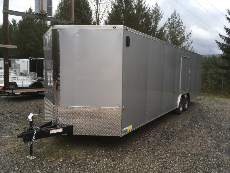 2019 Continental Cargo 8.5X28 5TON ESCAPE DOOR CAR HAULER Enclosed ...