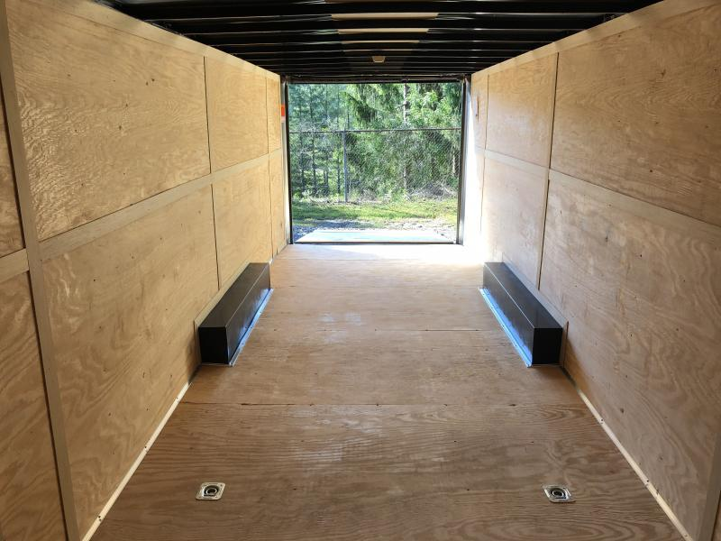 2019 Homesteader 8.5x28 Champion SGT Flat Nose 7'tall 5 ton car hauler Enclosed Cargo Trailer