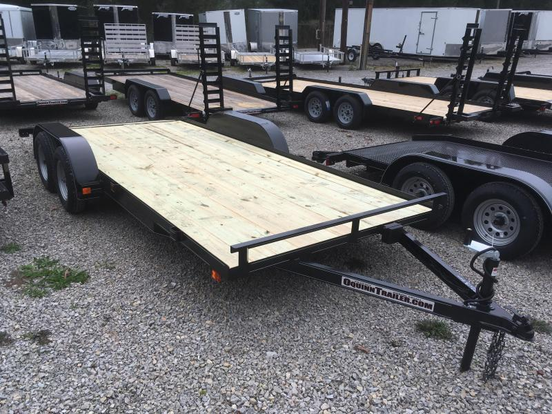 2018 Other 82x18 Basic wood car hauler Car / Racing Trailer