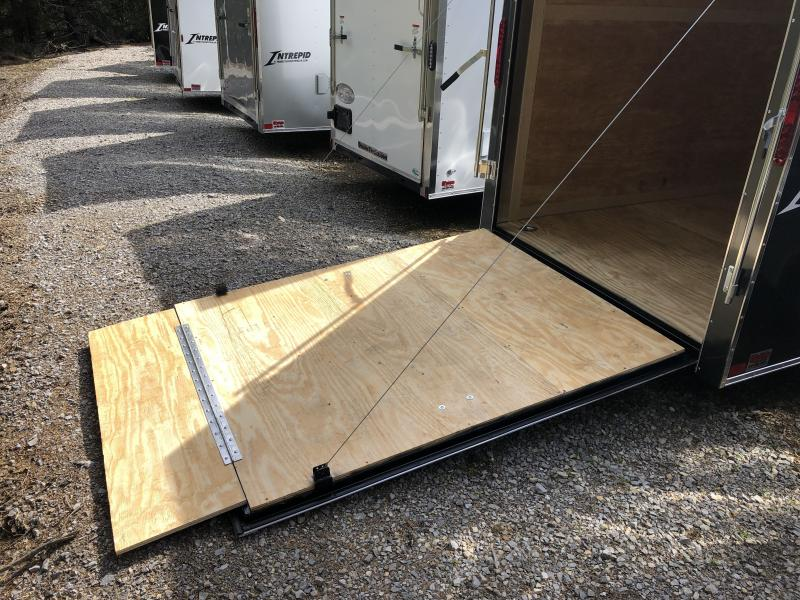 "2019 Homesteader Inc. 6x12 intrepid 6"" extra ht single axle ramp Enclosed Cargo Trailer"