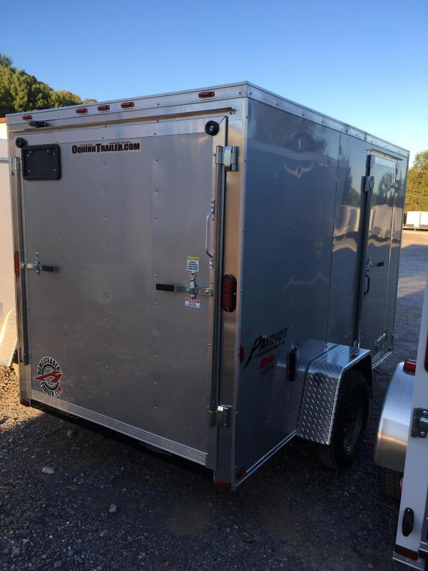 2019 Homesteader Inc. 6x10 patriot/intrepid sd ramp single axle Enclosed Cargo Trailer