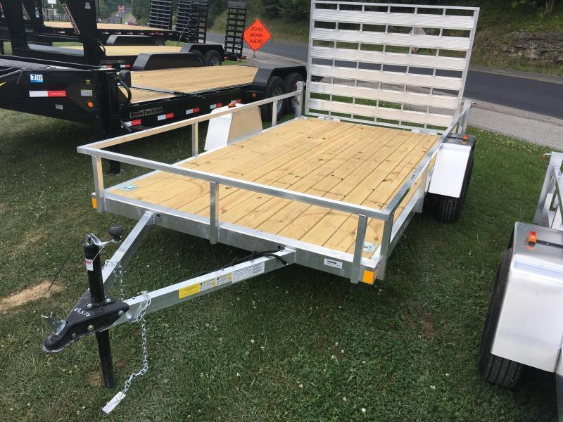 2019 Forest River Inc. 78x12 AFG wood floor aluminum Utility Trailer