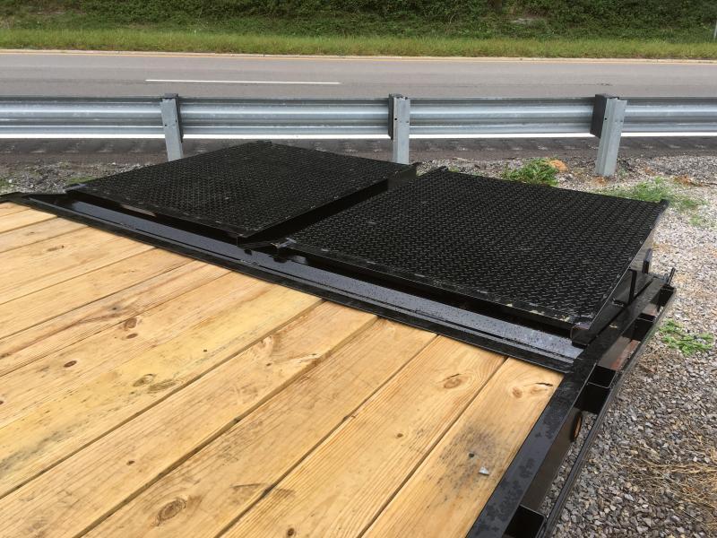 2019 Other 25ft 7Ton Deckover Gooseneck mega ramps Equipment Trailer