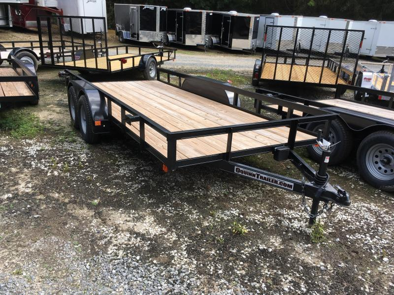 2019 76x16 tandem utility with brakes and no gate Utility Trailer