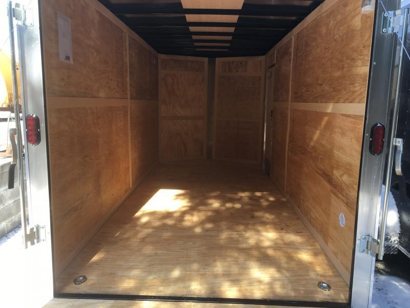 2019 Homesteader 7x16 Intrepid 1ft sd ramp extra height Enclosed Cargo Trailer