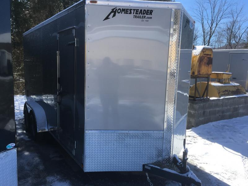 2019 Homesteader 7x16 Intrepid 1ft sd ramp extra height Enclosed Cargo Trailer