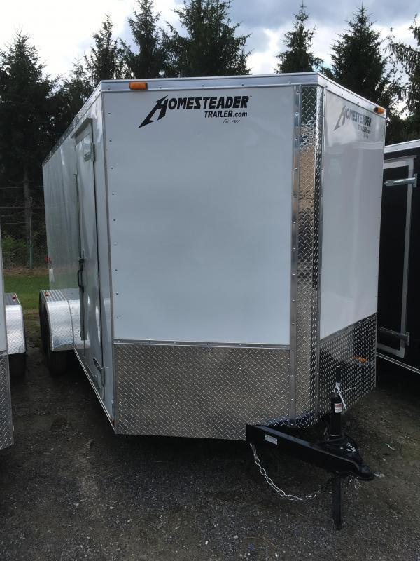 2019 Homesteader 7x16 Intrepid 6in extra height Enclosed Cargo Trailer