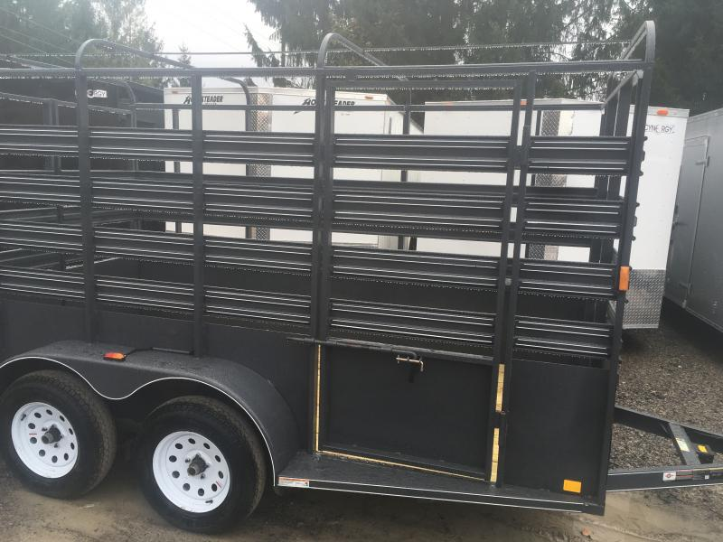 2019 Carry-On 6x12 Livestock Trailer 4 brakes Livestock Trailer