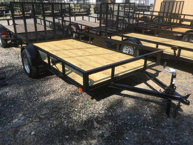 2019 Other (Not Listed) 76x12 gate HD single axle Utility Trailer