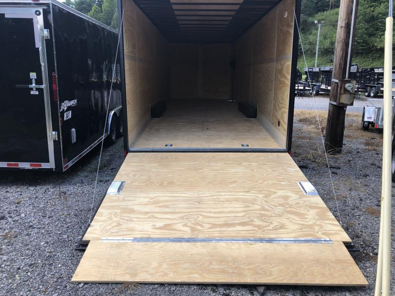 2020 Continental Cargo 8.5X28 7'TALL 5TON BLACKOUT CAR HAULER Enclosed Cargo Trailer
