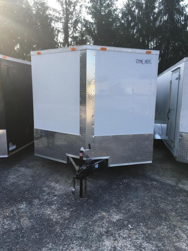 2019 Cynergy 8.5X16 Vnose ramp door Enclosed Cargo Trailer
