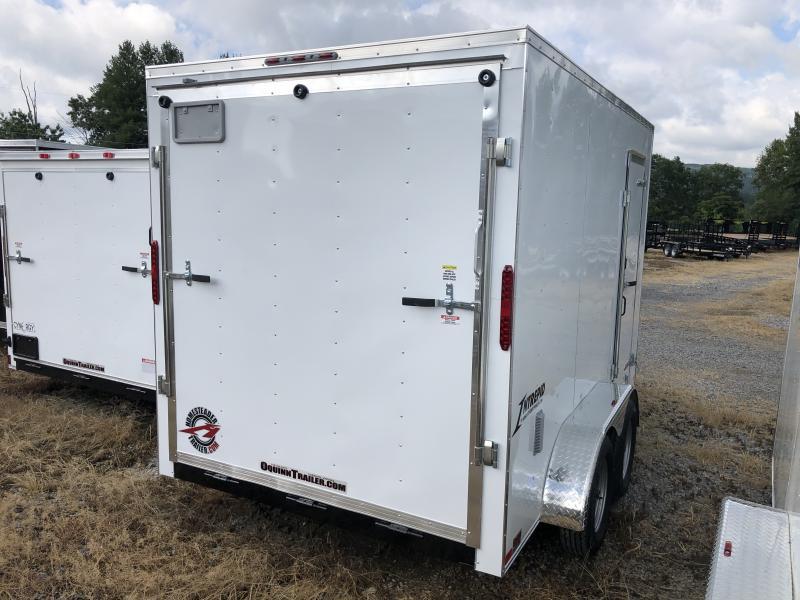 2020 Homesteader 7x12 Intrepid tandem 12in extra ht sd ramp Enclosed Cargo Trailer