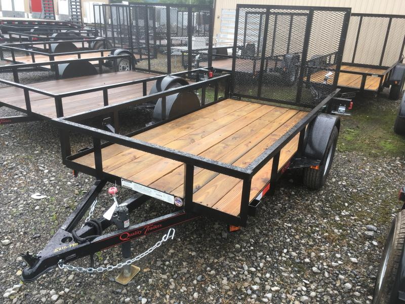 2019 Quality Trailers 5x10 PRO SERIES single axle w/gate Utility Trailer