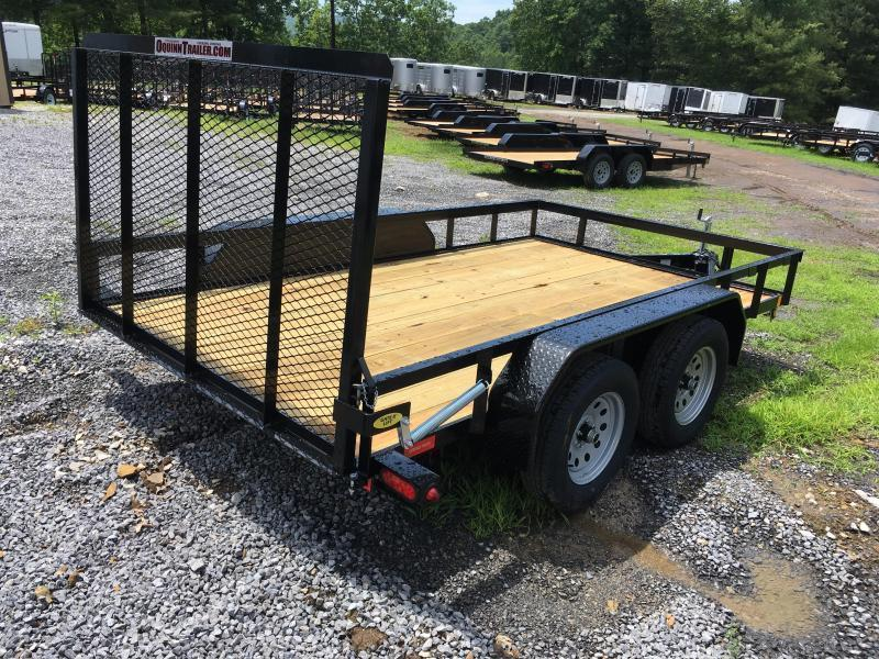 2019 Gatormade Trailers 82X12 TANDEM Utility Trailer