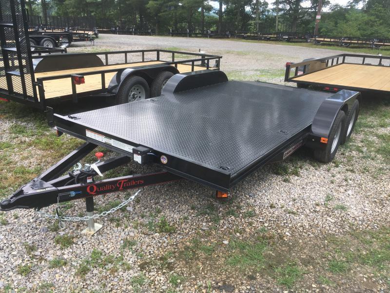 2019 Quality Trailers 82x16 steel car hauler Car / Racing Trailer