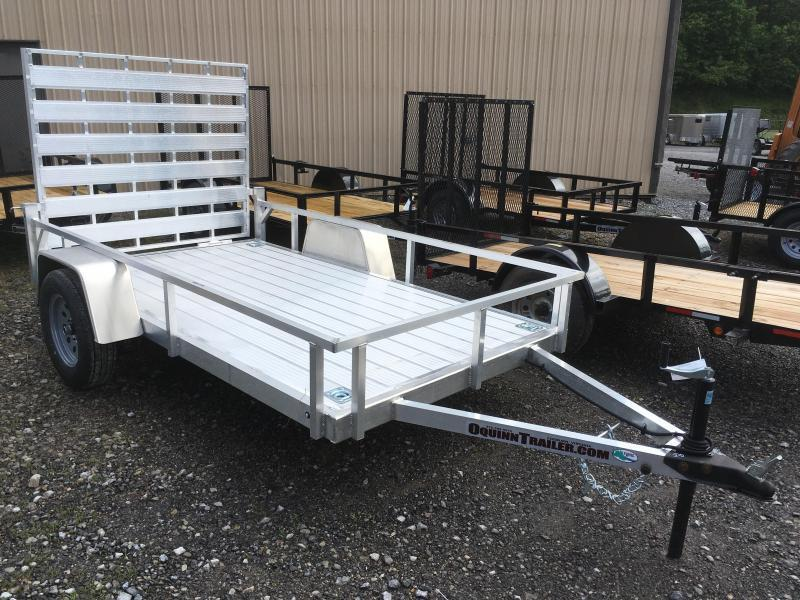 2019 Forest River Inc. 5.5x10 all aluminum Utility Trailer