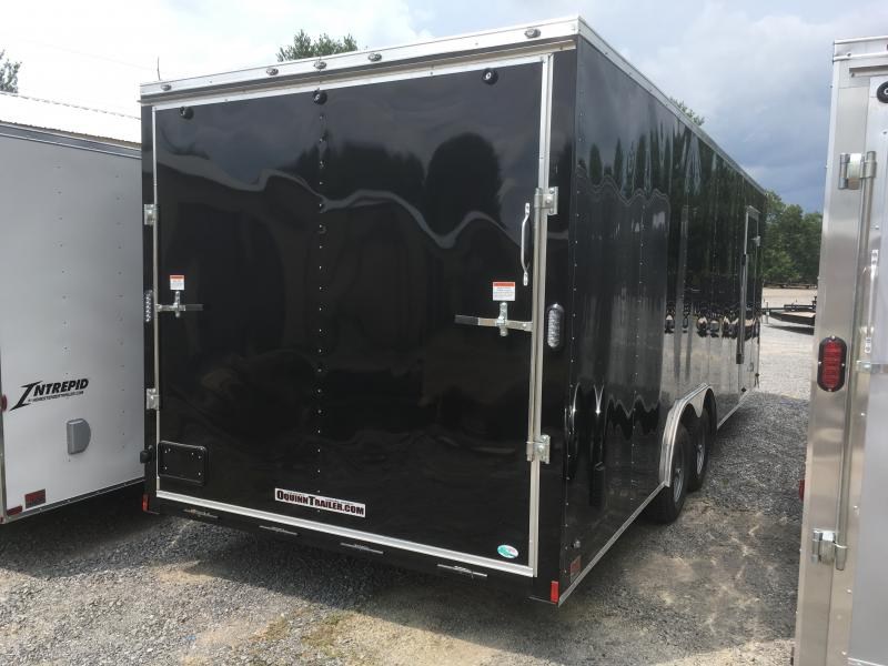 2019 Continental Cargo 8.5x24 5ton 7ft tall car hauler Enclosed Cargo Trailer