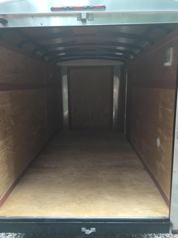 2019 Homesteader Inc. 6x12 Challenger SD Double Door single axle Enclosed Cargo Trailer