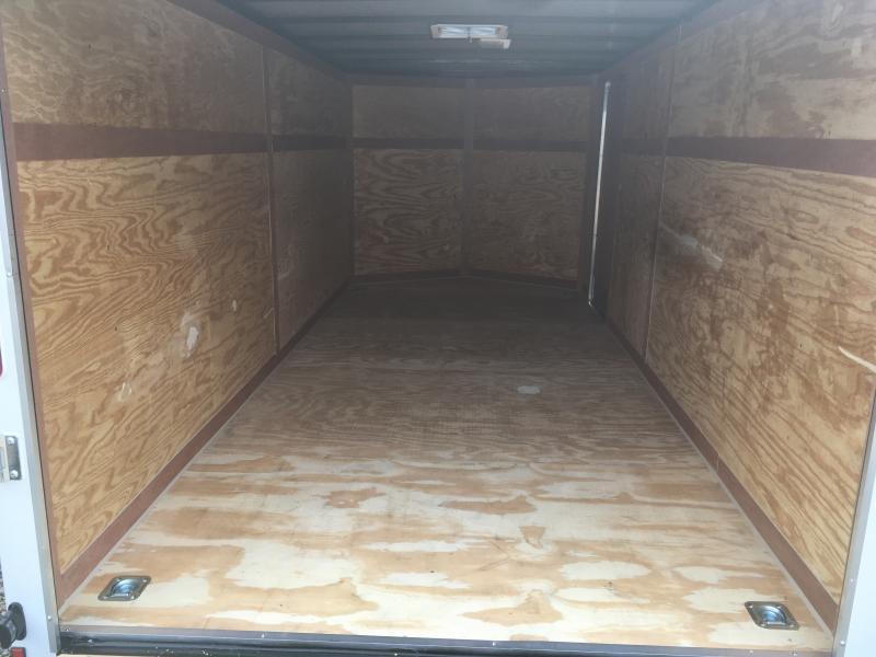 2018 Cynergy 7x16 V-Nose ramp Enclosed Cargo Trailer