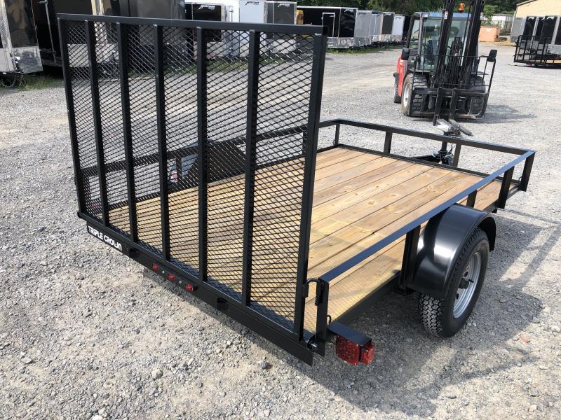 2019 Triple Crown 76x10 single axle w/gate Utility Trailer