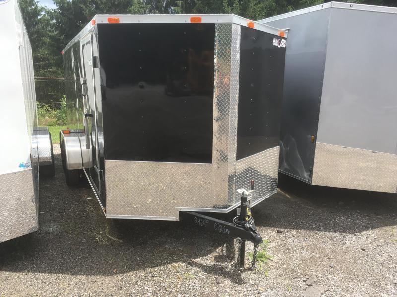 2019 Cynergy 7x16 V-Nose ramp Enclosed Cargo Trailer
