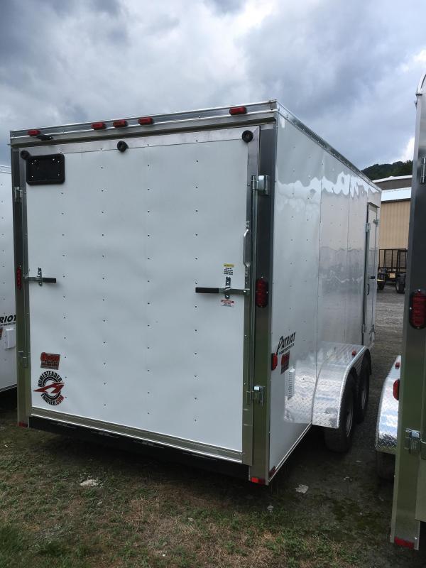2019 Homesteader 7x16 Intrepid 1ft extra height Enclosed Cargo Trailer