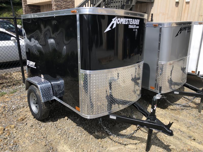 2020 Homesteader 4x6 swing door Enclosed Cargo Trailer