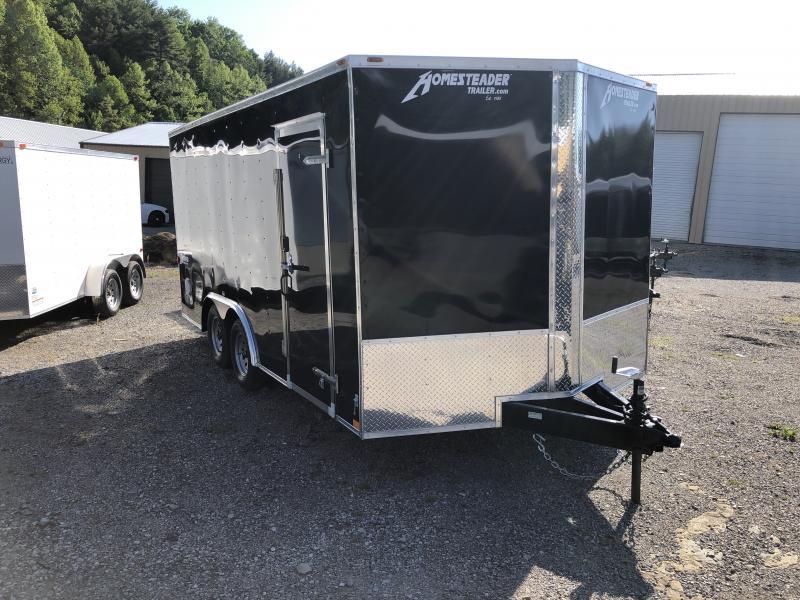 2019 Homesteader 8.5X16 Intrepid SD Ramp Door Enclosed Cargo Trailer
