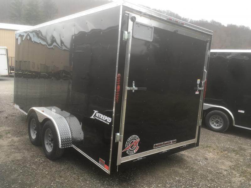 2019 Homesteader 7x16 Intrepid 6in extra ht 6.5 tall inside w/window Enclosed Cargo Trailer