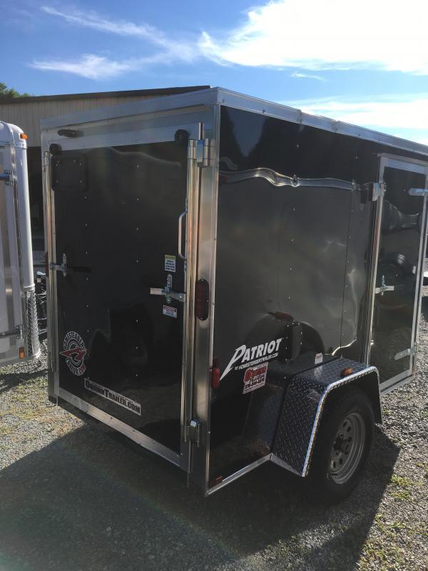 2019 Homesteader Inc. 5x8 patriot/intrepid ramp Enclosed Cargo Trailer