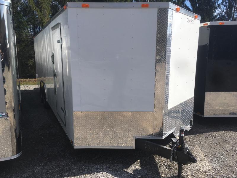 2019 cynergy 8.5x24 5ton car hauler Enclosed Cargo Trailer
