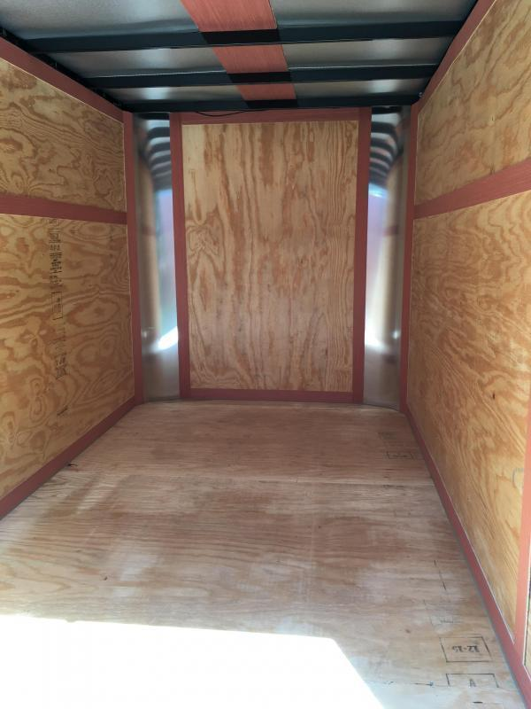 2019 Homesteader Inc. 6x10 Fury Enclosed Cargo Trailer