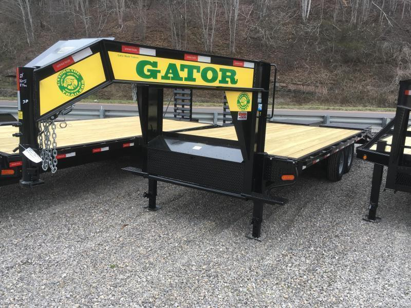 2019 Gatormade Trailers 21ft 8Ton Goliath Ramps Gooseneck Equipment Trailer