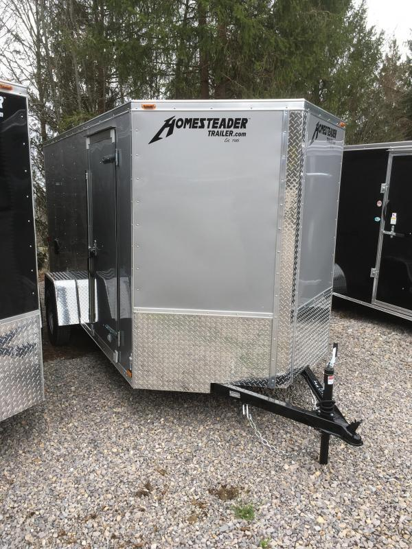 2019 Homesteader Inc. 6x12 Intrepid single axle sd ramp Enclosed Cargo Trailer