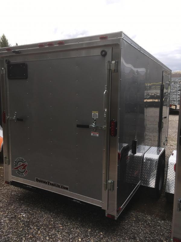 2019 Homesteader Inc. 6x12 Intrepid single axle sd ramp Enclosed Cargo Trailer