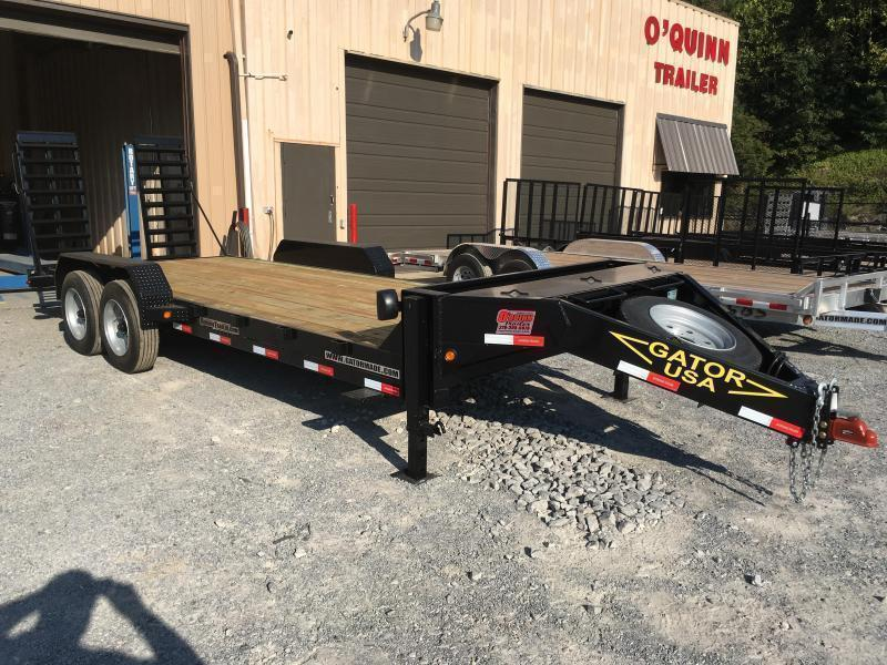 2019 Gatormade Trailers 82X20 17600GVWR AARDVARK Equipment Trailer